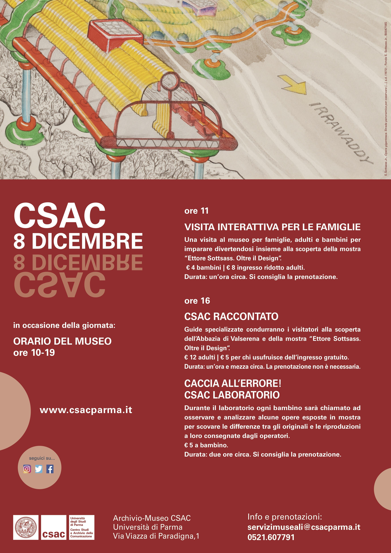 Locandina a3 8 dicembre Way