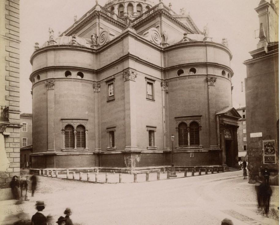 P. Poppi - Fotografia dell'Emilia, Bologna, Parma N°1082. Chiesa della Steccata, 1888-90, CSAC Università di Parma,  C129273S