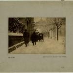 Umberto Orlandini, Sotto la neve, 1905 c.