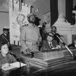 0033 con Benassi in sala del Tricolore 1981